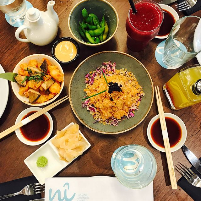 Nî is the new Japanese/ Italian restaurant in ABC Verdun combining Kampai...