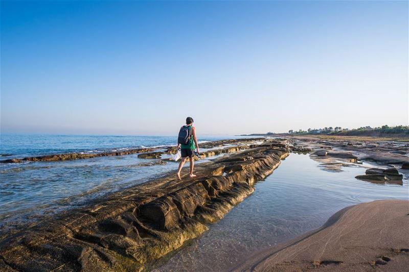 Beach ❤ lebanon VSCO ... (Naqoura)