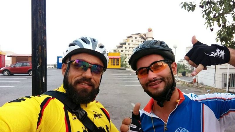 Early morning ride with my friend Omar  morning  friday  friend  ride ... (Zouk Mosbeh)