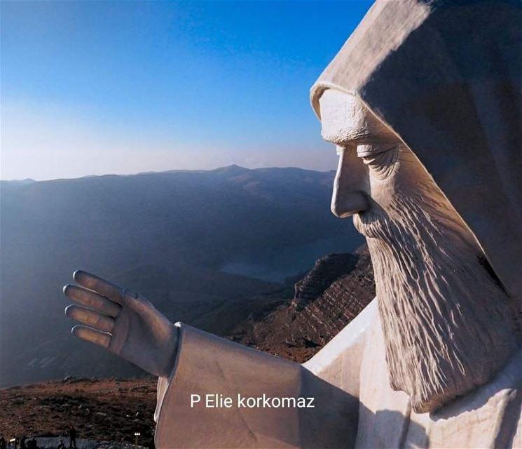 Saint Charbel - Faraya nayef_alwan art artist sculptor statue ...