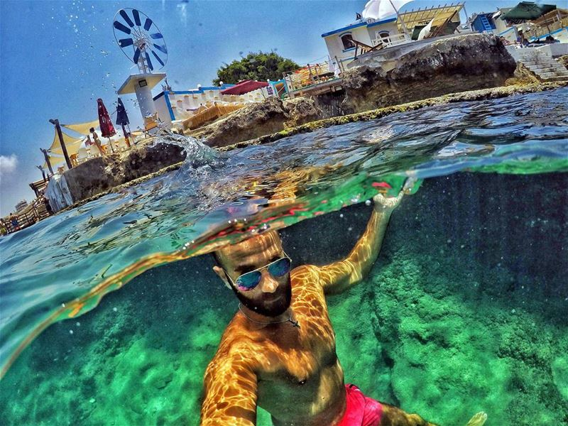 Smell the sea & feel the sky Let ur soul & spirit fly .. . goprome ...