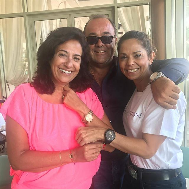 repost via @instarepost20 from @daizygedeonRoland & Hala Kassir Poivre of... (Phoenicia Hotel Beirut)