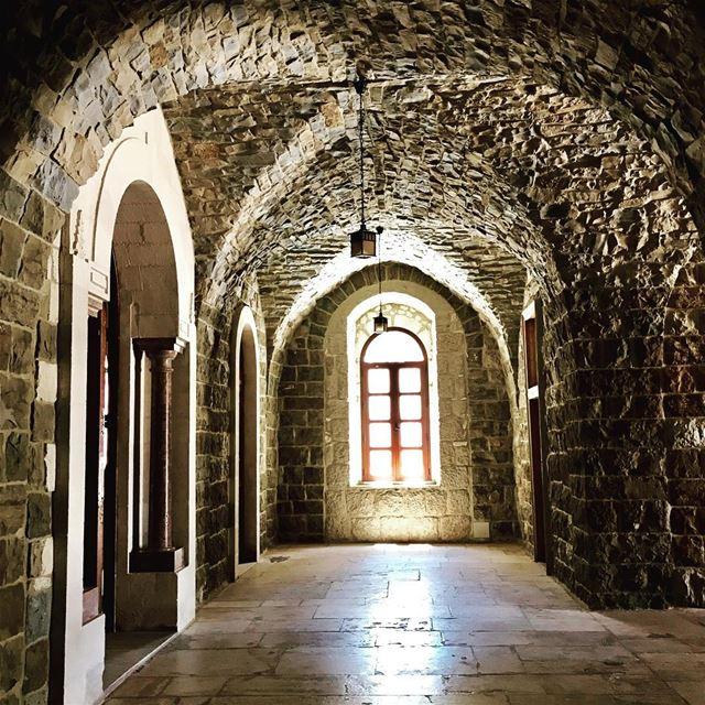 Church window old architecture diman bcharre north lebanon ... (Ad Diman, Liban-Nord, Lebanon)