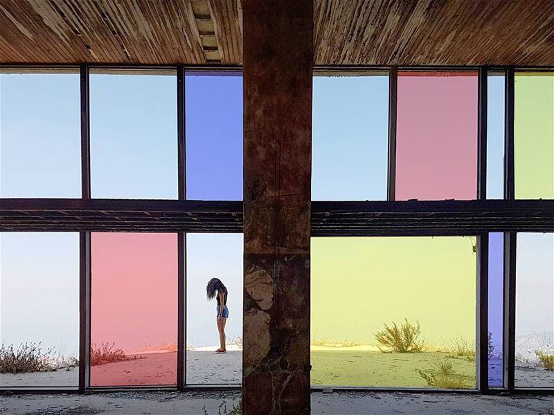 ~ Abandoned / Mondrian ~... abandoned abandonedplaces ...
