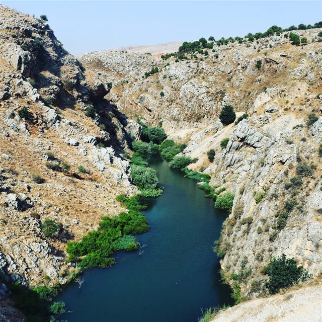 Lebanon has it all .. Lebanon nature hiking roadtrip river hasbani ...