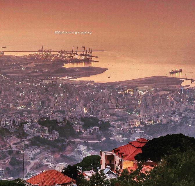 From above 🙌🏼 • insta_lebanon ig_lebanon lebanon_pictures ... (Beirut, Lebanon)