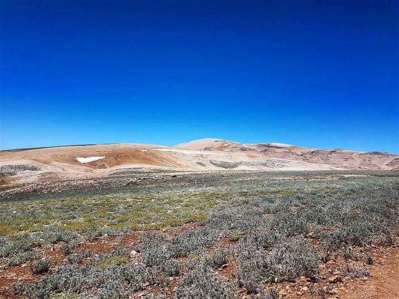 Amazing nature at the peak amazing landscape landscapephotography ... (Qornet es Saouda (ås))