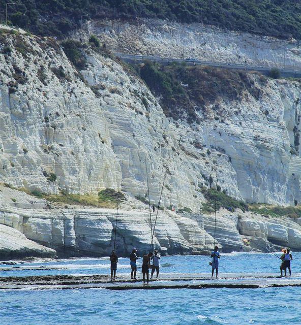 "ᴛʜᴇ ""sᴇᴀ ʟᴏᴠᴇʀs"" (Naqoura Beach , South Lebanon)"