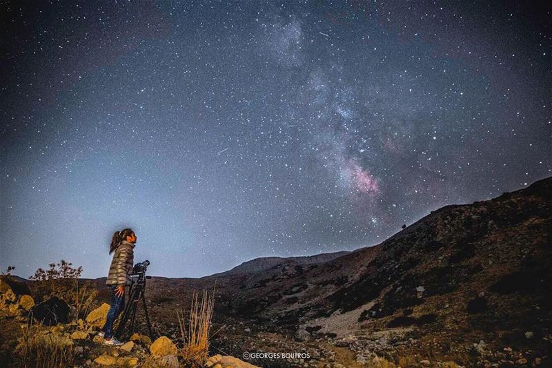 It's either you have it in you, or you don't!✨ Astro photography session... (Mount Sannine)