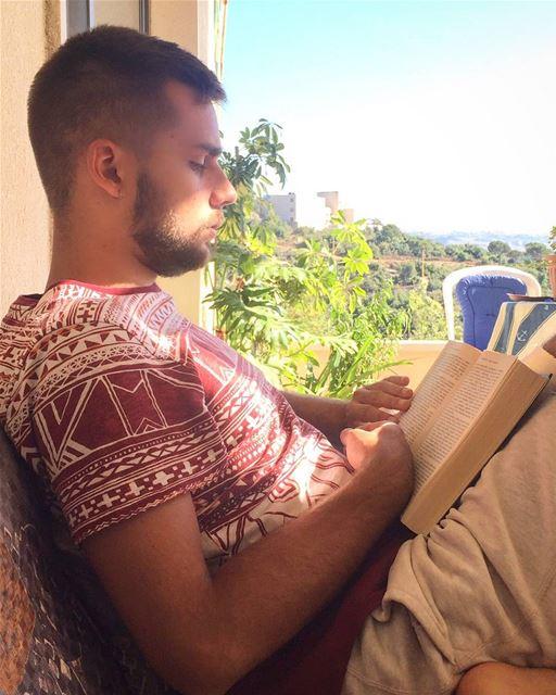relax summer summertime lebanon lebanese love sunnyday book ... (Qarnayel)