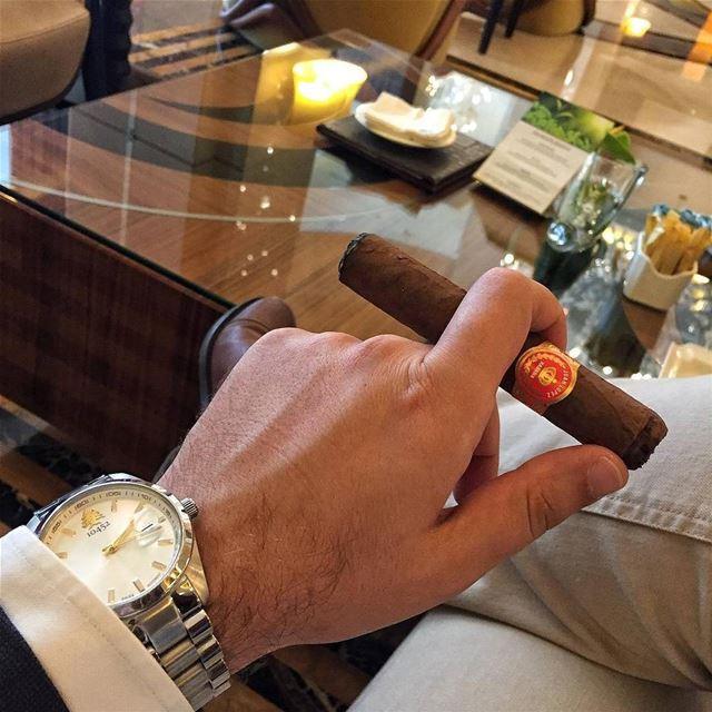 repost via @instarepost20 from @libanocigar LibanoCigar cigars ... (La Cigale Hotel)