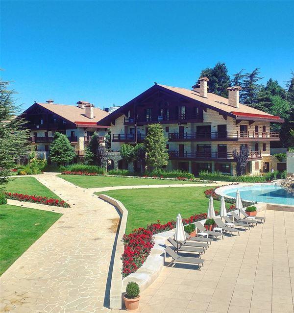 Good Morning 🌞 (InterContinental Mzaar Lebanon Mountain Resort & Spa)