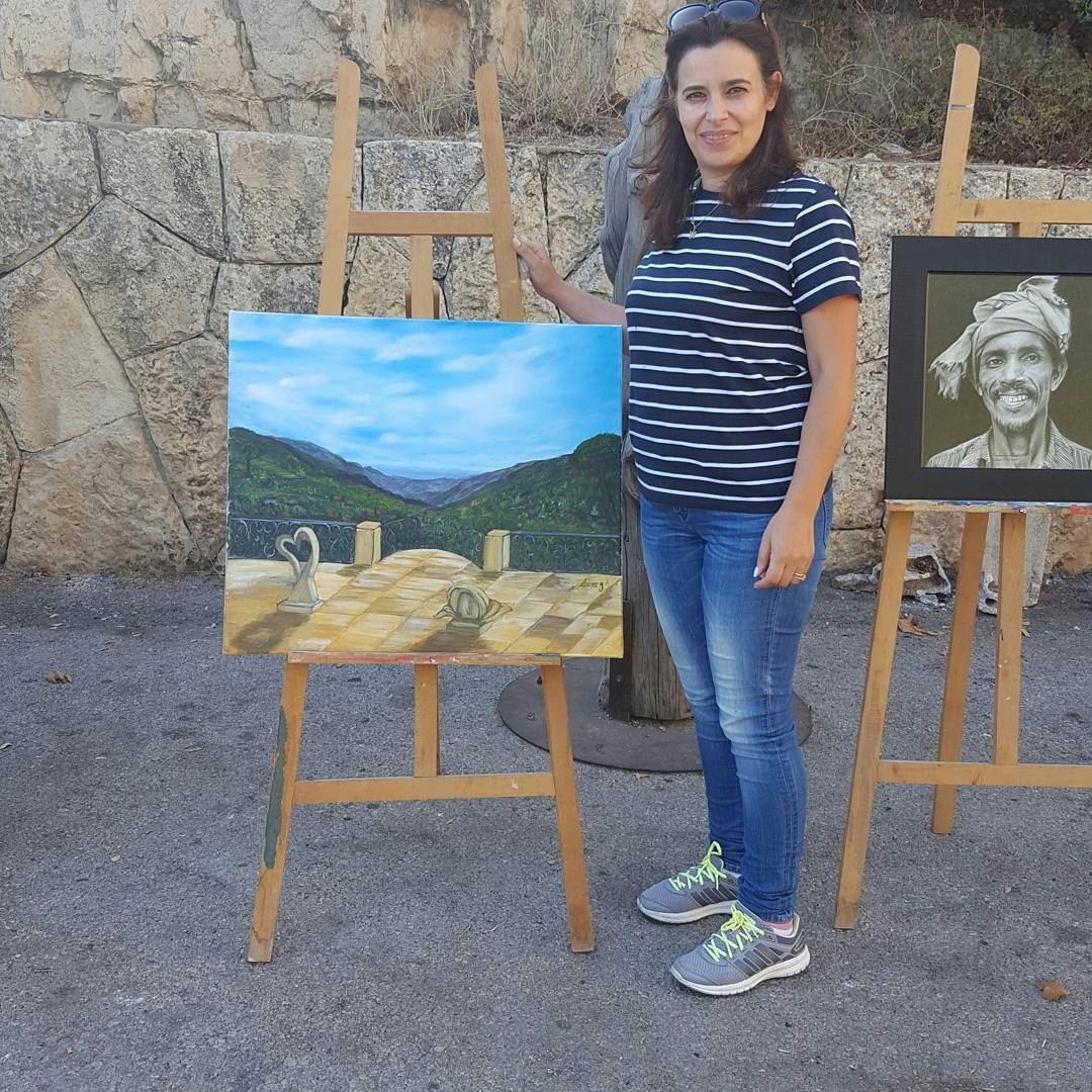 symposium painting acrylic oilpainting artwork art artist nature aley... (Aley)
