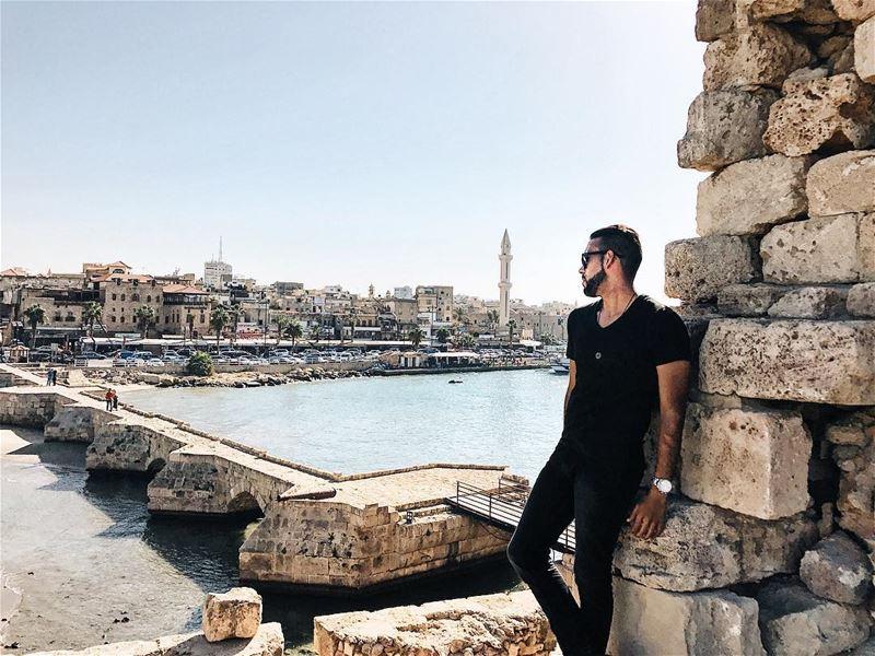 Ho provato a guardarmi intorno, però a dire il vero non ho visto quasi... (Sidon, Lebanon)
