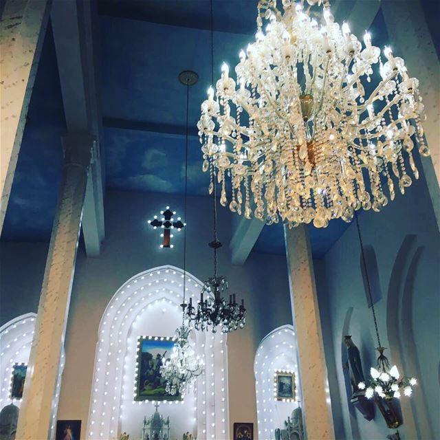 Inside St George Church in Bane Lebanon ... (Bâne, Liban-Nord, Lebanon)