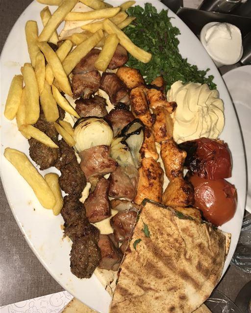 Let's BBQ 🍗🍖🥓🍤 ... phototakenbyme bbqlovers jbeil lebanon rockjbeil... (Rock Restaurant)
