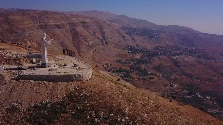 يا شربل ساعدنا، يا شربل ساعدنا، يا شربل إحمينا إحمينا 🙇 marCharbel ... (Faraya, Mont-Liban, Lebanon)