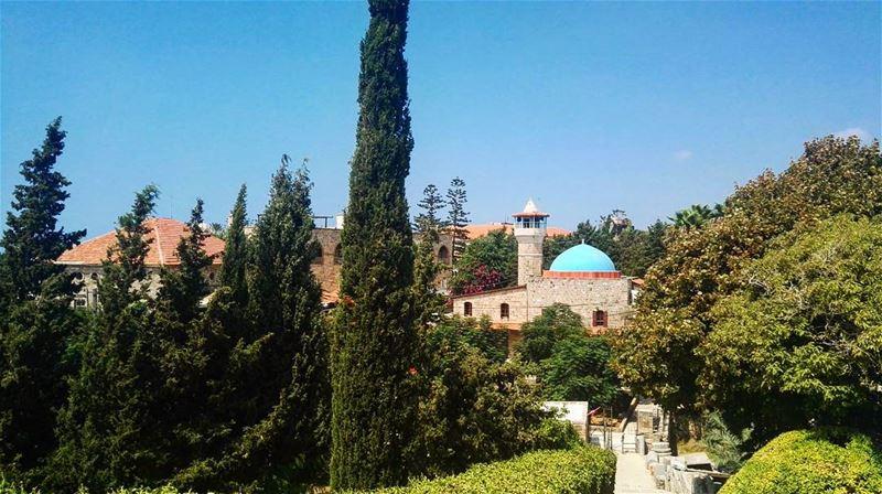 summer summertime lebanon love byblos jbeil mosque green blue ... (Byblos - Jbeil)