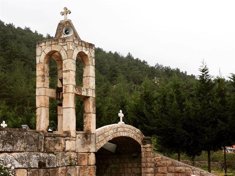 StChalitta kobayat akkar north lebanon church bell cross arcades ... (Al Qubayyat, Liban-Nord, Lebanon)