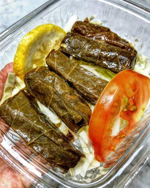 ورق عنب 😋 lebanon lebanoneats lebanese yourlebanon vegetarian veggies... (Beirut, Lebanon)