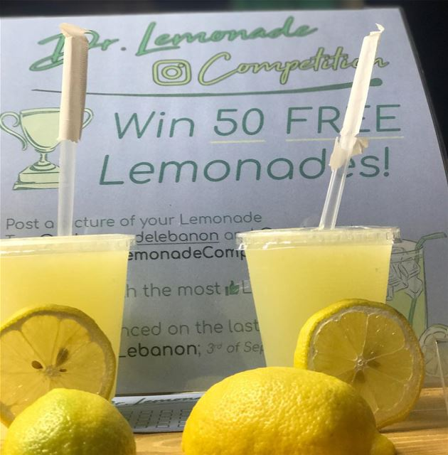 🍋 🍋 🇱🇧 thelemonadecompetition @soukelakel @dr.lemonadelebanon ... (Souk el Akel)