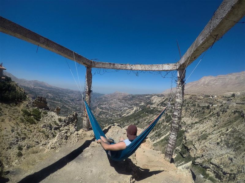 Some people want authority , others just need a hammock, peace & quiet ..... (Bcharre El Arez بشري الأرز)