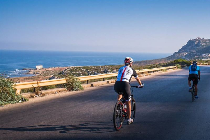 Early morning bike ride, Amchit to Chekka lebanon vsco ... (Amchit)