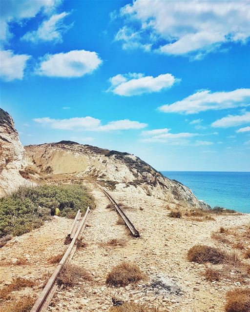 Abandoned train tracks from the South of Lebanon to the Holy Land... 10... (UN Naqoura)