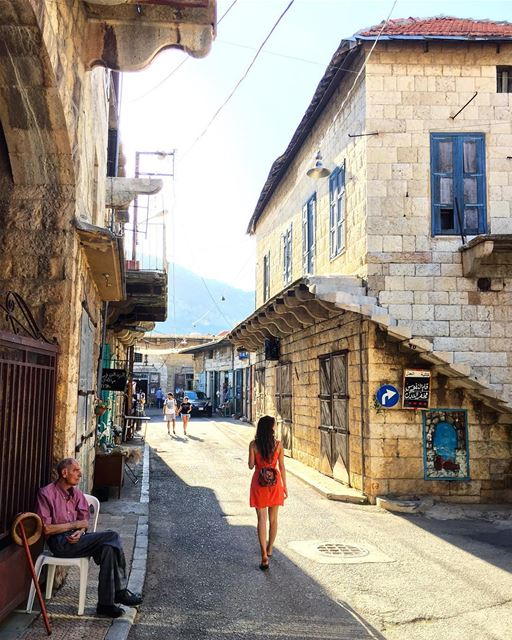 Douma, one of Lebanon's most authentic villages. 🏘⠀⠀⠀⠀⠀⠀⠀⠀⠀⠀⠀⠀⠀⠀⠀⠀⠀⠀⠀⠀⠀⠀⠀ (Douma, Liban-Nord, Lebanon)