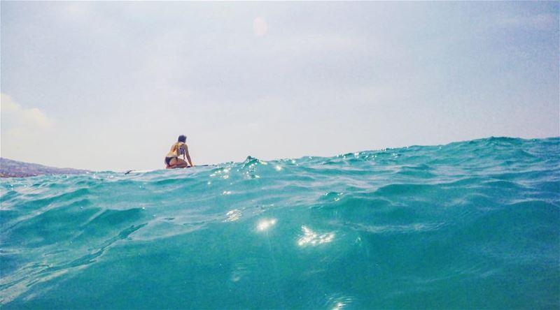 Surfing my life away 🌊🐋 .... paddleboarding surfing ocean ... (Kfar Abida)