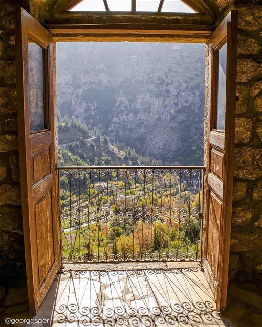 """Trust in dreams, for in them is hidden the gate to eternity."" - Khalil... (Ouâdi Qannoûbîne, Liban-Nord, Lebanon)"