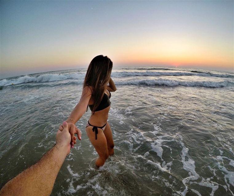 Come a Little Closer, Let Me Taste Your Smile 🌅 Livelovebeirut Sea ... (Byblos, Lebanon)