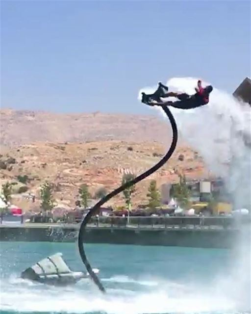 It is not without fear, yet despite it. Challenge yourself 👊🏻  flyboard ...