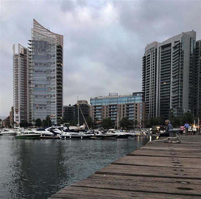 [Beirut vibes] 🇱🇧 Beirut Lebanon sky clouds skyline instagood ... (Beirut, Lebanon)