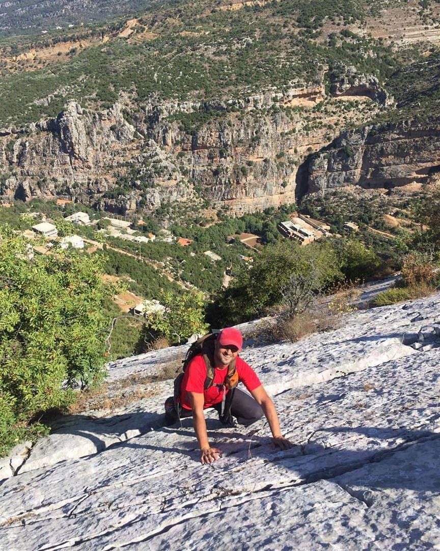 Where no one dares 💪 hiking climbing nature extreme sports laklouk ...