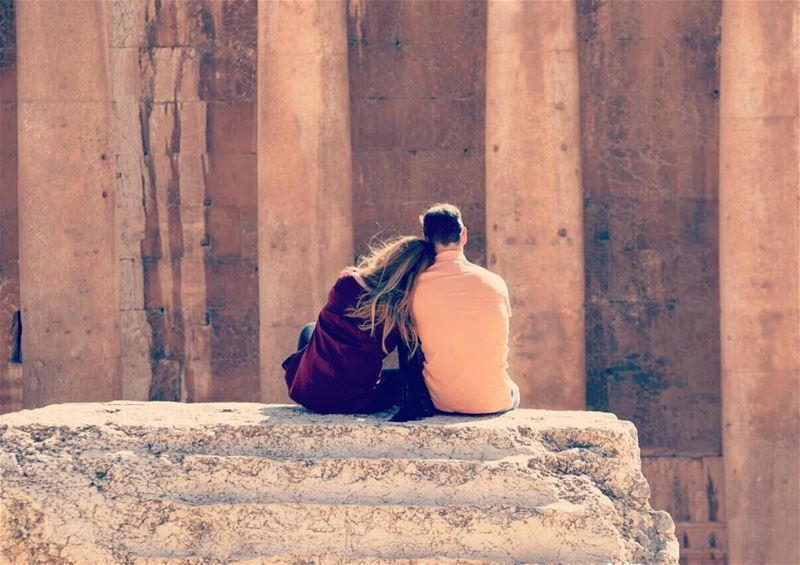 The most sacred of temples🏛👫 (Baalbek , Roman Temple , Lebanon)