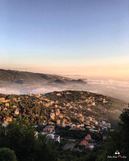 I'm not lazy, i drive everywhere 🚗💨 ... (El Kfour, Mont-Liban, Lebanon)