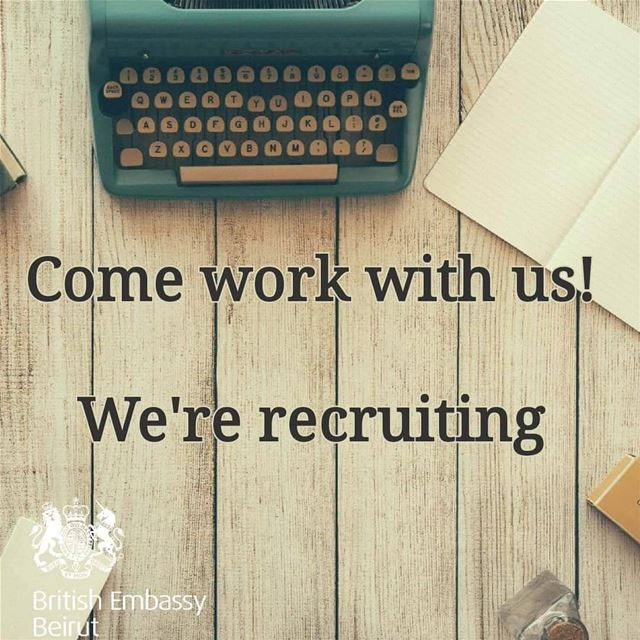 The British Embassy in Beirut is seeking an individual for the position of...