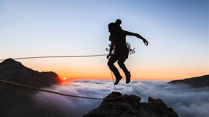 moonmonkey moonmonkeylebanon climbing ropes abseiling portaledge ...