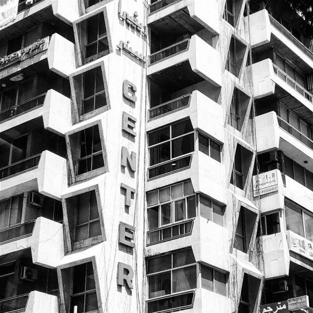 buildings in Lebanon are like pages from books, or websites, or maybe...