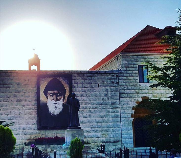Monastery of Saint Charbel in Lebanon. latergram saintcharbel ... (Mazar Saint Charbel-Annaya)