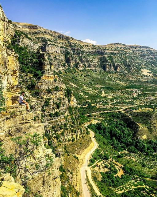 A billion dollar view 😍Can you spot me? LiveLoveAkoura ❤️ ShotoniPhone... (Akoura, Mont-Liban, Lebanon)