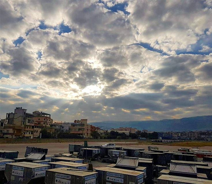 Goodmorning🇱🇧🇱🇧❤❤ cloudy goodmorning goodmood goodvibes ... (Beirut–Rafic Hariri International Airport)