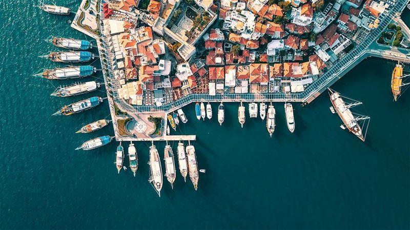 Pick & choose & let's sail away ⚓️⛵️🚁🇱🇧🚁📍Drone: DJI Mavic Pro 📍Heigh (Marmaris)