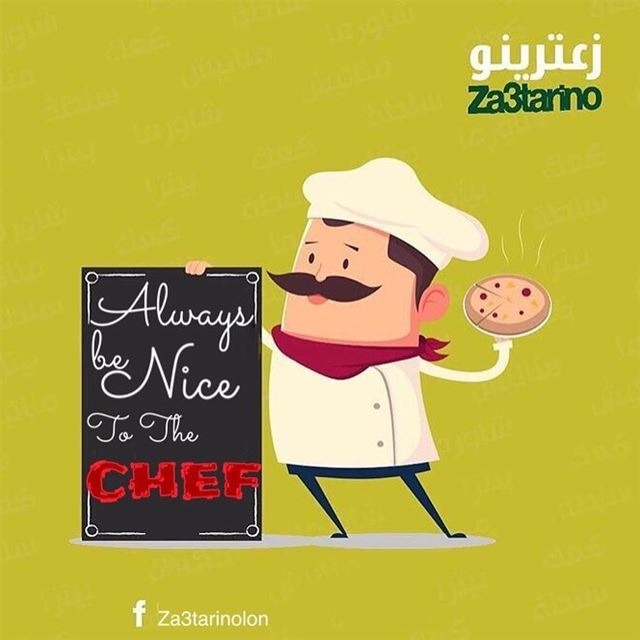 Today's quote:Always be Nice to the CHEF 👨‍🍳 👩‍🍳 food...