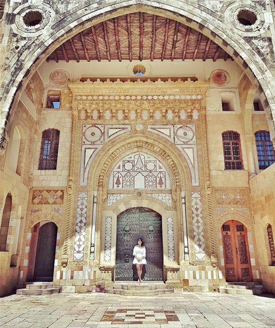 Enchanted... 💛💛💛 ____________________________________________... (Beiteddine Palace)