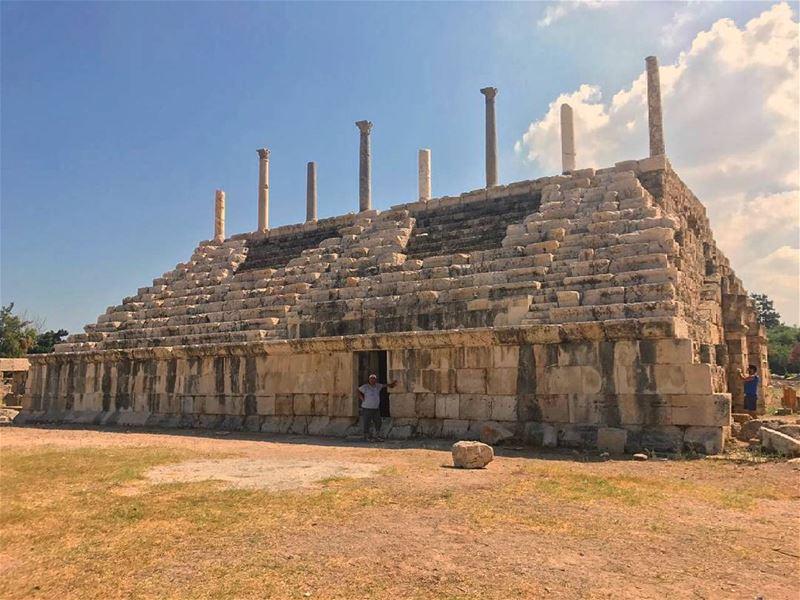 The largest Roman Hippodrome(That's a part of it not all the Hippodrome... (Tyre Hippodrome)
