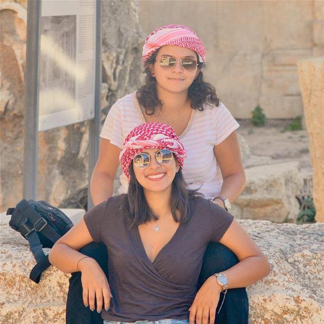 My sister has an awesome sister truestory 😁 sisterlove peopleinmylife ... (Baalbek, Lebanon)