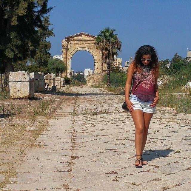 Touring Lebanon romanruins byzantineruins tyre lebanon funinthesun ... (Tyre, Lebanon)