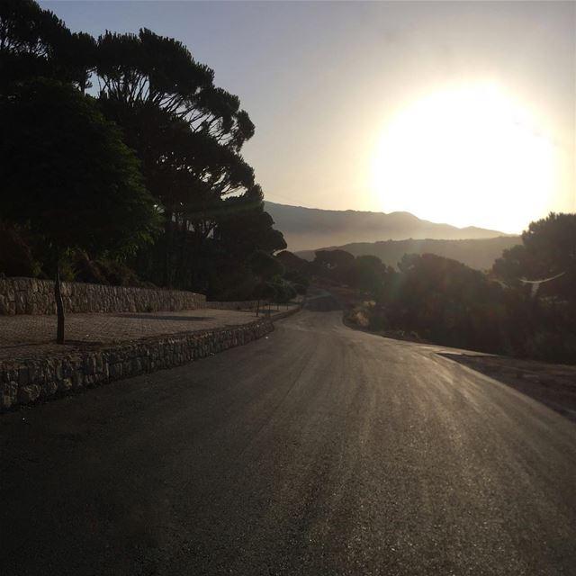 Hello September...! sunrise sunrisephoto sunrise_and_sunset ... (Bois De-Boulogne, Mont-Liban, Lebanon)